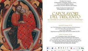 """Trevi, Spoleto e Montefalco per i """"Capolavori del Trecento"""""""